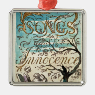 Songs of Innocence, title page Christmas Ornament