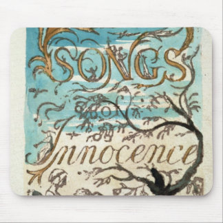 Songs of Innocence, title page Mouse Mat