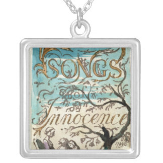 Songs of Innocence, title page Silver Plated Necklace
