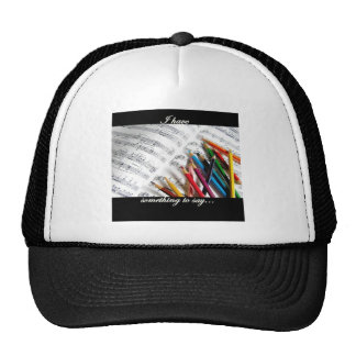 Songwriter - I have something to say Trucker Hat