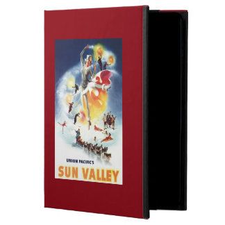 Sonja Henje Montage of Sun Valley Poster iPad Air Cover