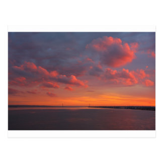 Sonnenuntergang 1 post card