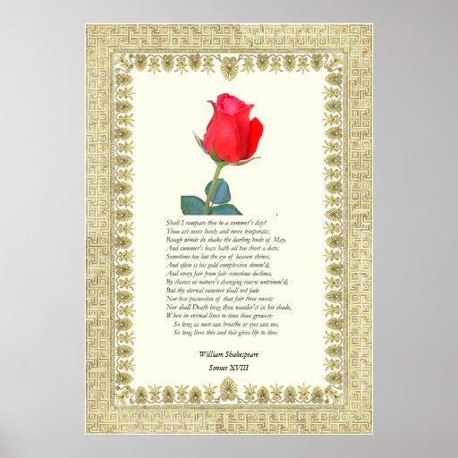 William Shakespeare Sonnet 18 Essay