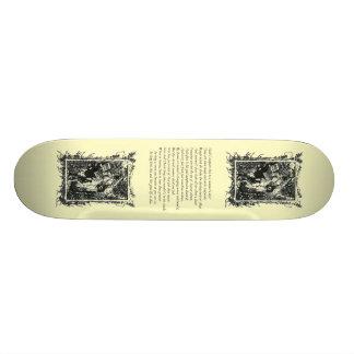 Sonnet 18 by William Shakespeare Custom Skateboard