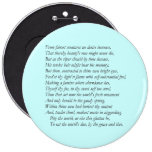 Sonnet # 1 by William Shakespeare Buttons