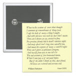 Sonnet # 30 by William Shakespeare Badge