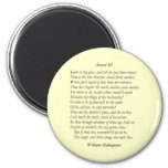 Sonnet # 3 by William Shakespeare Magnet
