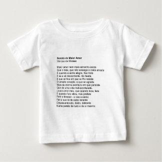 Sonnet of the Love Biggest - Vinícius de Moraes Tees