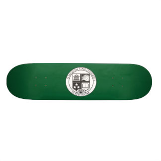 Sonniton State University Seal - B&W 21.6 Cm Old School Skateboard Deck