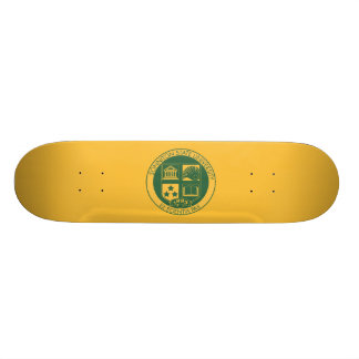 Sonniton State University Seal - Color Custom Skate Board