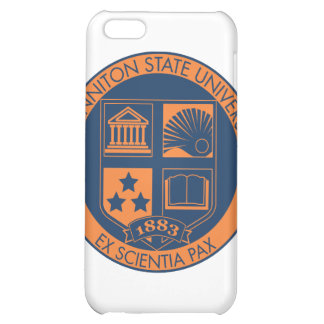 Sonniton State University Seal - Navy Orange iPhone 5C Covers