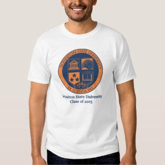 Sonniton State University Seal - Navy/Orange Shirts
