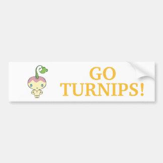 Sonniton State University Turnips Car Bumper Sticker