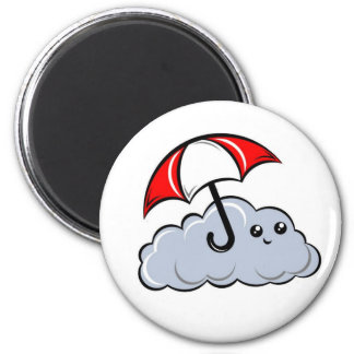 Sonny the Cloud 6 Cm Round Magnet