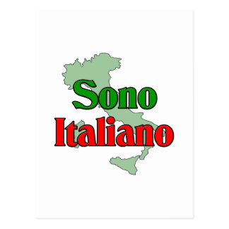 Sono Italiano Postcard