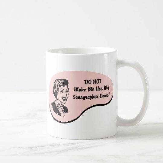Sonographer Voice Coffee Mug