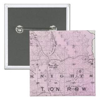 Sonoma County, California 17 15 Cm Square Badge