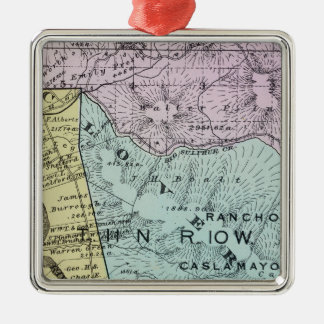 Sonoma County, California 18 Christmas Ornament