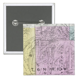 Sonoma County, California 21 15 Cm Square Badge
