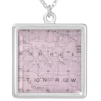 Sonoma County, California 27 Silver Plated Necklace