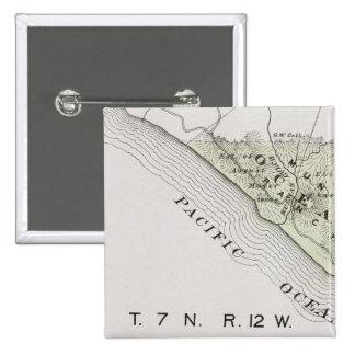 Sonoma County, California 28 15 Cm Square Badge