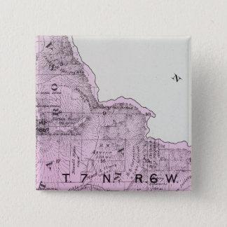 Sonoma County, California 29 15 Cm Square Badge