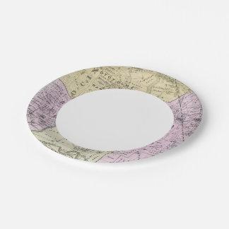 Sonoma County, California 2 Paper Plate