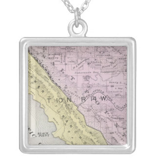 Sonoma County, California 34 Silver Plated Necklace