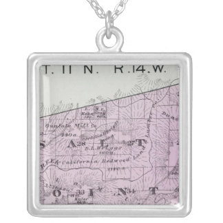 Sonoma County, California 36 Silver Plated Necklace