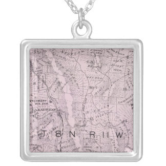 Sonoma County, California 4 Silver Plated Necklace