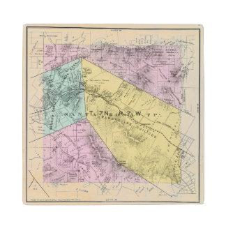 Sonoma County, California 4 Wood Coaster