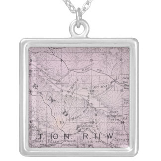 Sonoma County, California 5 Silver Plated Necklace
