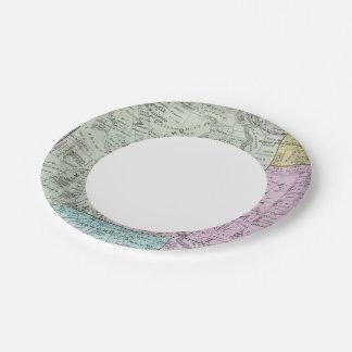Sonoma County, California Paper Plate