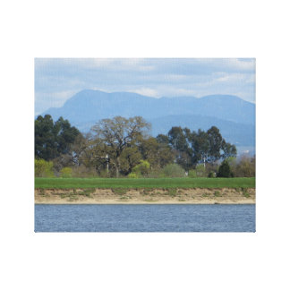Sonoma County Hills in March Gallery Wrap Canvas
