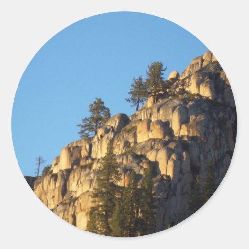 Sonora Pass Round Sticker