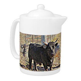 Sonoran Bull Tea Pot