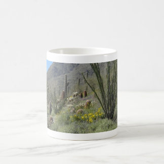 Sonoran Desert in bloom Coffee Mug