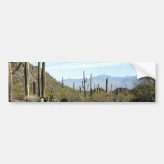 Sonoran desert scene 02 bumper sticker