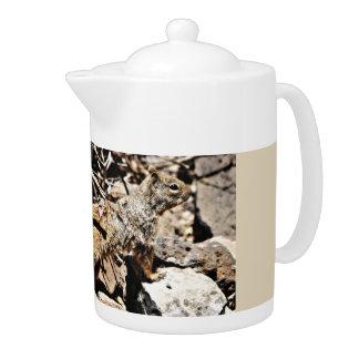 Sonoran Squirrel Tea Pot