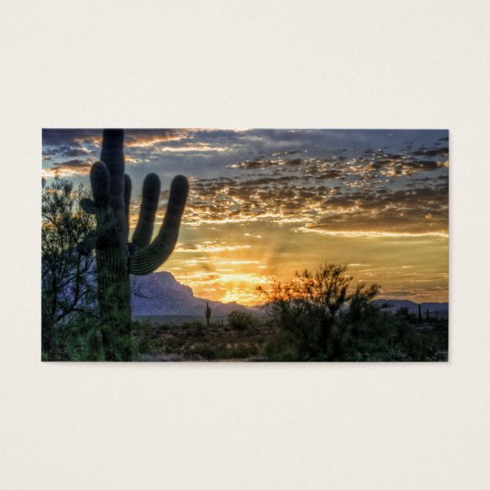 Sonoran Sunrise Business Card