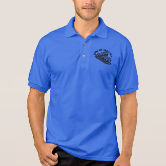 Sons Of Anoraks Steam Train Logo Polo Shirt