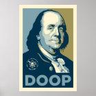 Sons of Ben - 'Ben Franklin Doop' Poster