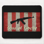 Sons of Liberty Flag with AK 47