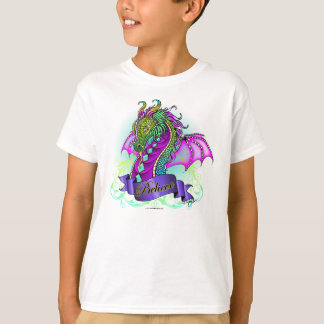 """Sonya"" Believe Rainbow Dragon Faerie Top T Shirts"