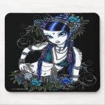 """Sonya"" Tribal Fusion Belly Dancer Flower Mousepad"