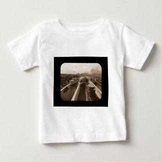 Soo Locks Magic Lantern Slide Sepia T-shirts