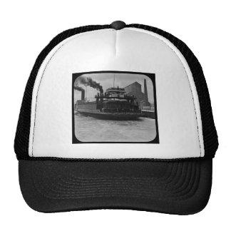 SOO Railroad Ferry Vintage Magic Lantern Slide Trucker Hat