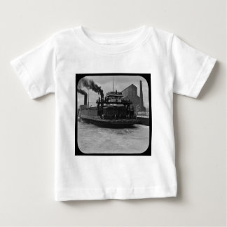 SOO Railroad Ferry Vintage Magic Lantern Slide T-shirt