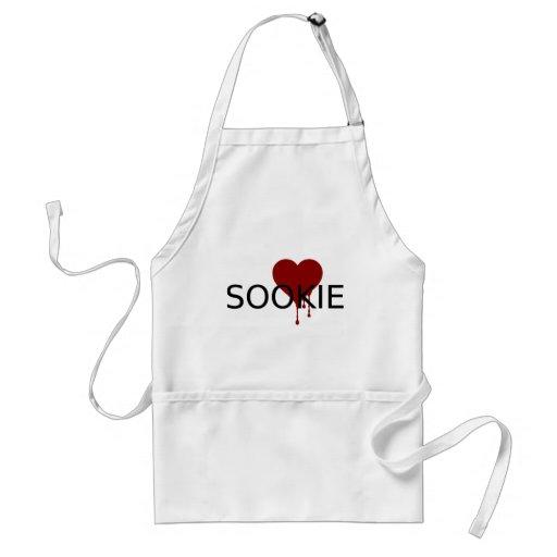 Sookie Blood Heart Adult Apron