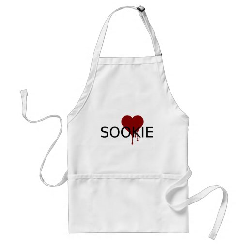 Sookie Blood Heart Standard Apron